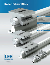 Lee Linear Roller Pillow Block Catalog