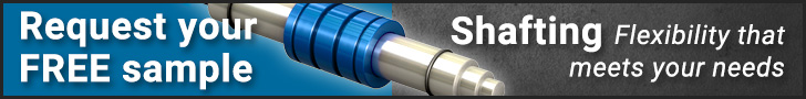Request your free shafting sample
