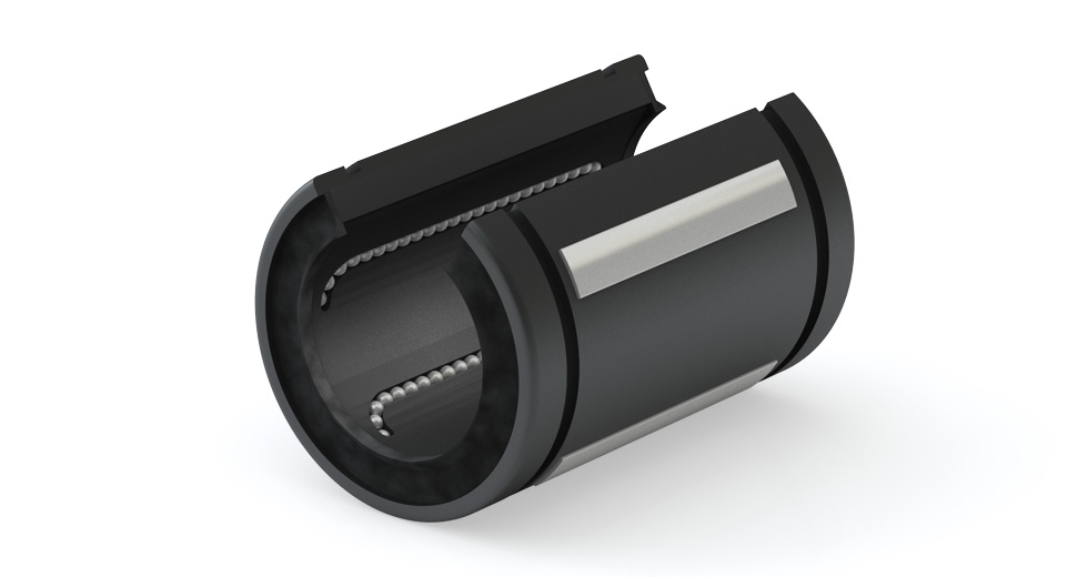 Product view of IPS-OP (Inch) Open Self-Aligning Linear Ball Bearing