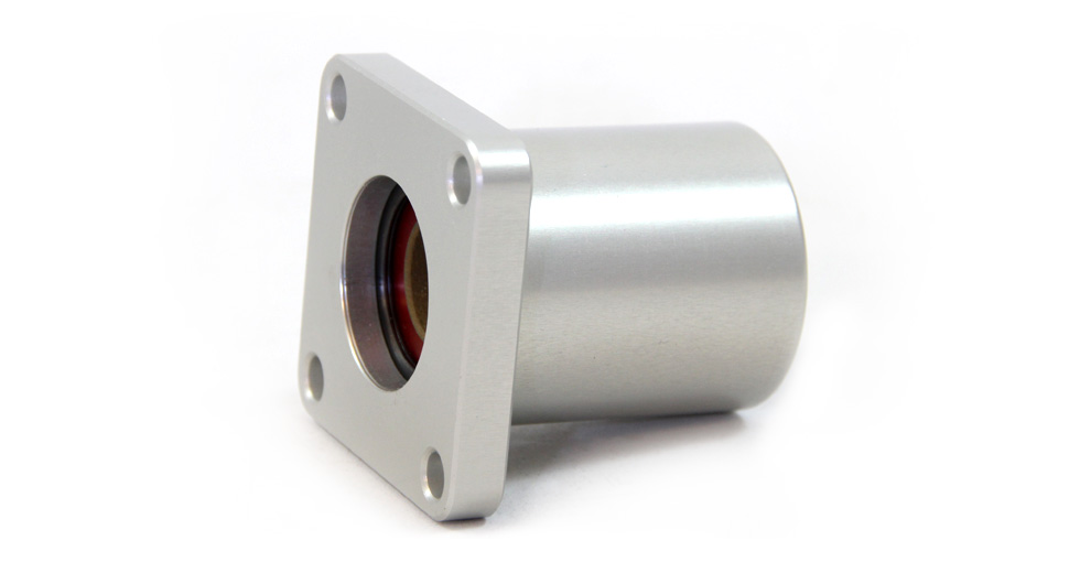 SFP inch Simplicity Square Flange Mount Side View