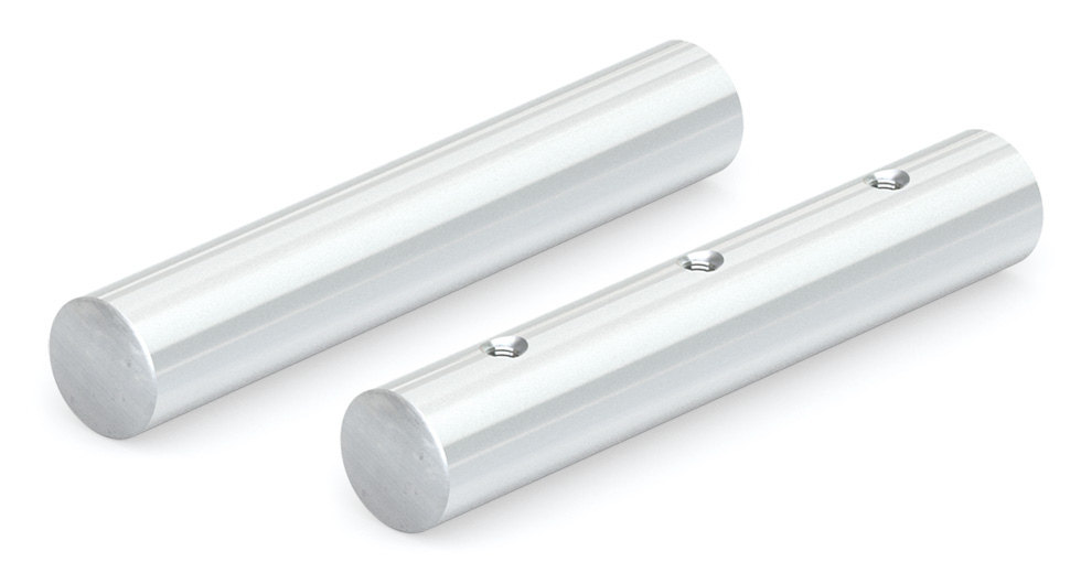 NIMSS Solid and PreDrilled Stainless Steel Linear Shafting