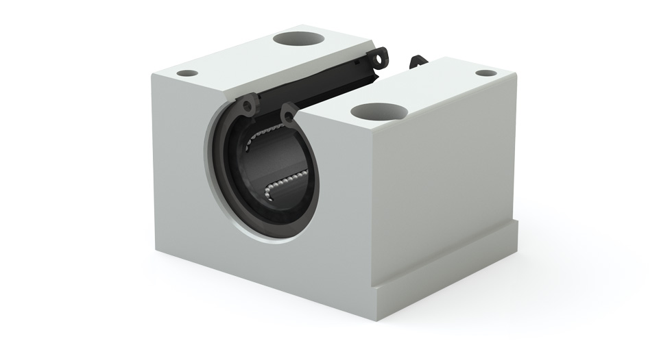Main view of metric Open Linear Ball Bearing Pillow Block (EPPMN)