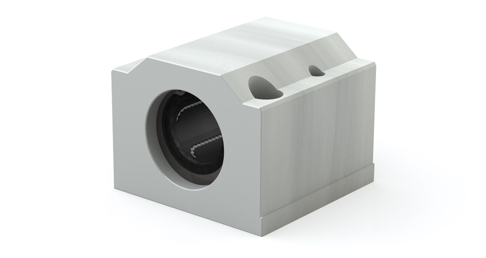 Main view of EPPM Metric Closed Linear Ball Bearing Pillow Block