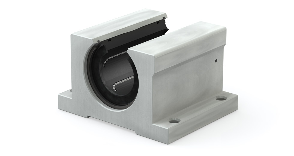 Main view of Inch Open Linear Ball Bearing Pillow Block (IPPN)