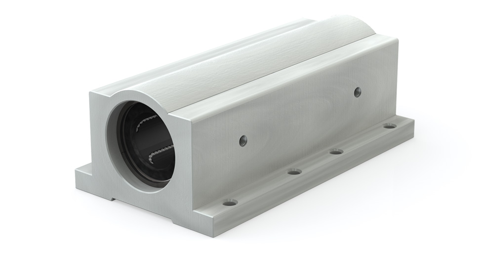 Main view of IPPSW Precision Plus Twin Closed Linear Ball Bearing Pillow Blocks (Inch)