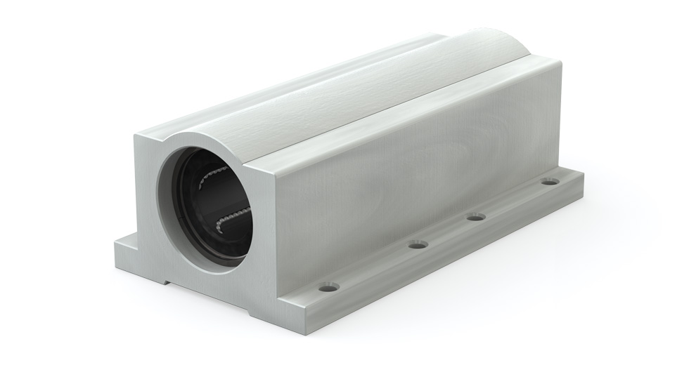 Main view of IPPW Twin closed Ball-type Linear Bearing Pillow Blocks Inch