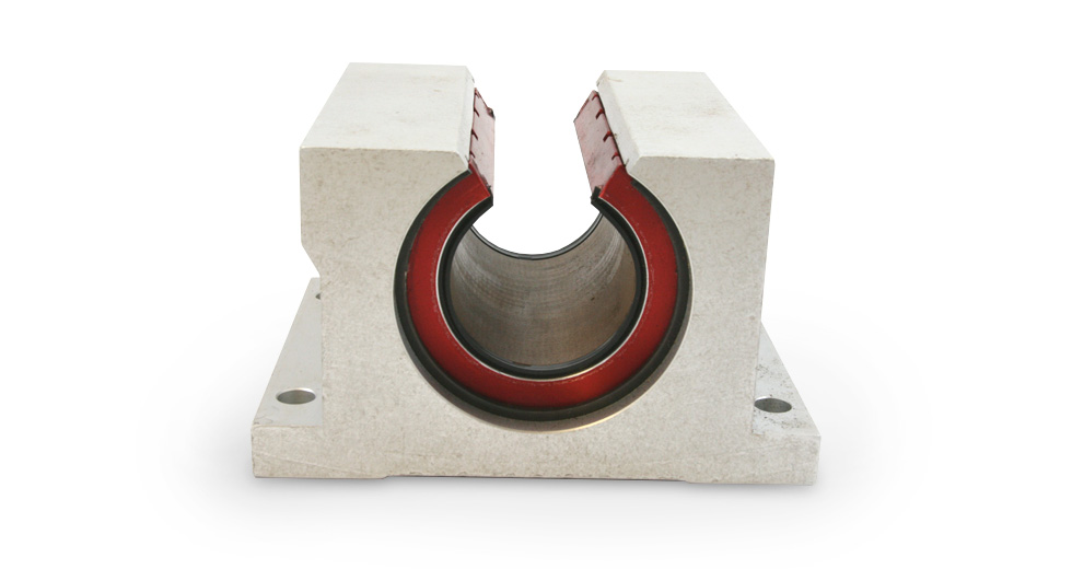 PN (Inch) Open Plain Linear Bearing Pillow Block