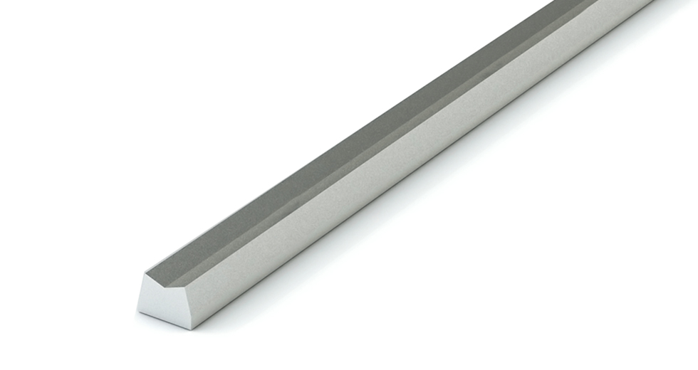 LSRM LEE Linear Steel Low Support Rail (Metric)