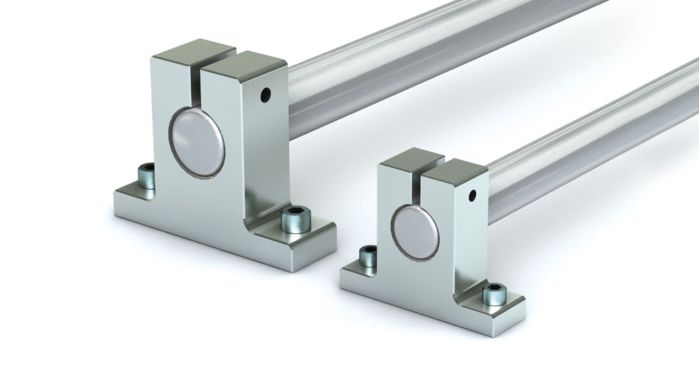 NSB Aluminum End Support Block