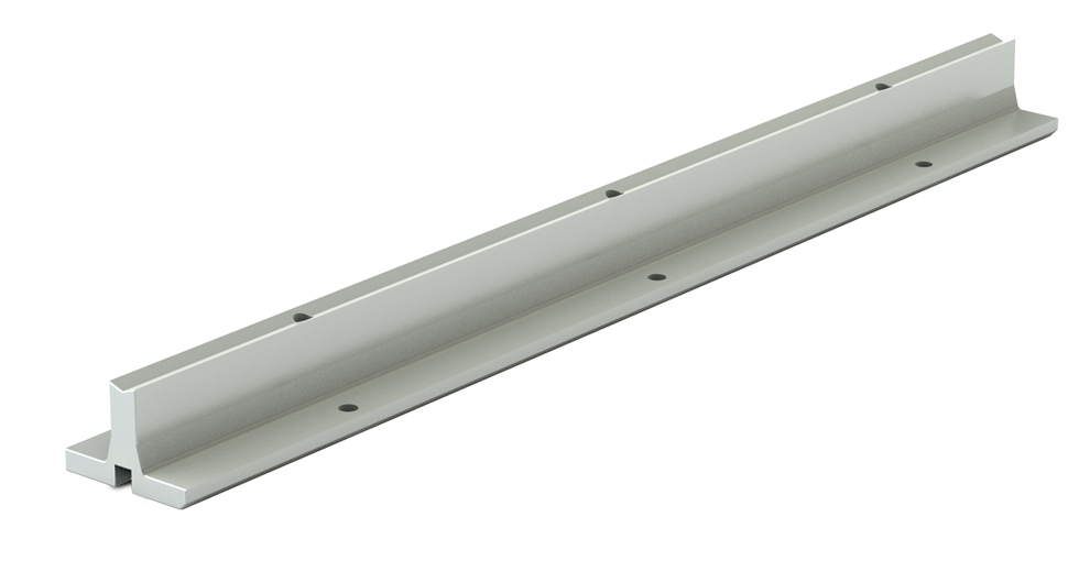 SRPD LEE Linear Aluminum Support Rail Pre-Drilled (inch)