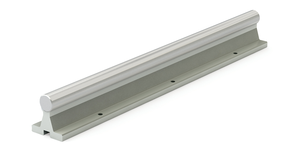 SRA LEE Linear Shafting Aluminum Support Rail Assembly (Inch)
