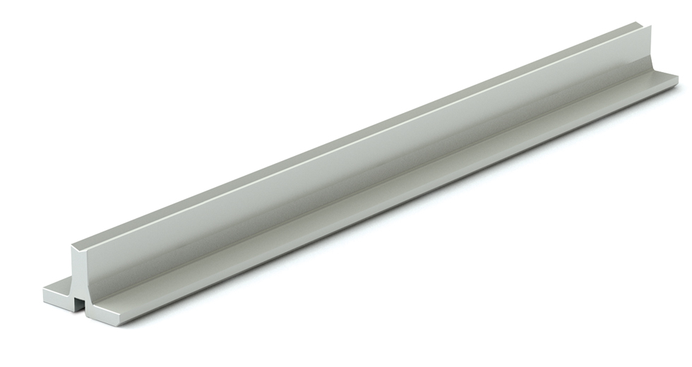 SRM LEE Linear Aluminum Support Rail (metric)