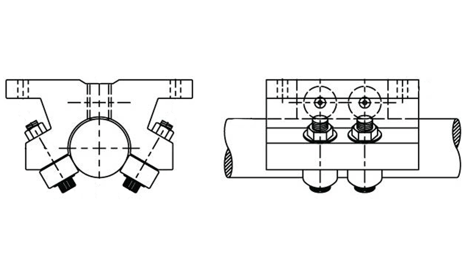 Double Roller Pillow Block (Inch)  – DPB Diagrams